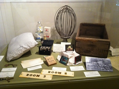 Items from the old  Hospital at a Grace Hudson Museum exhibit a couple years ago.